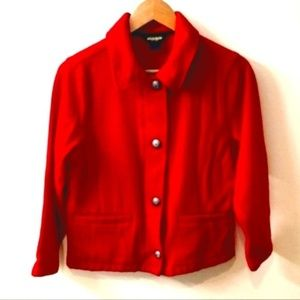 Woolrich Vintage Red Wool Jacket Small